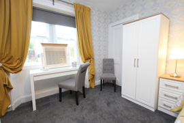 Double bedroom - Arrandale self catering apartment Inverness