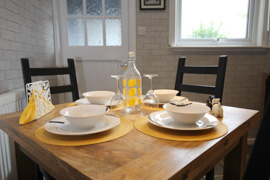 Kitchen/diner - Arrandale self catering apartment Inverness